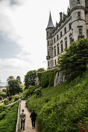Visit Dunrobin Castle Scotland view  2