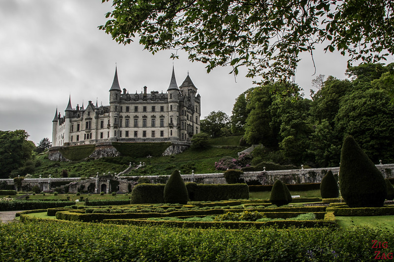 Visit Dunrobin Castle Scotland view  6