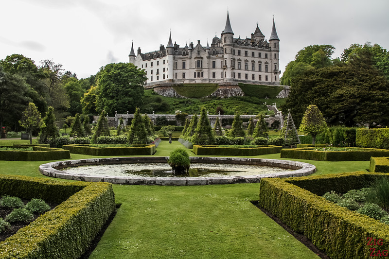 Visit Dunrobin Castle Scotland view  5