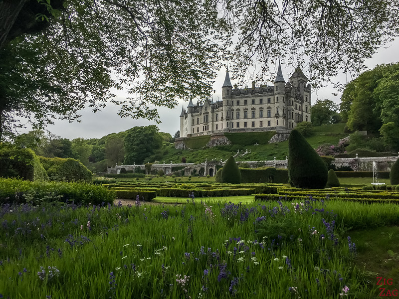Visit Dunrobin Castle Scotland view  8