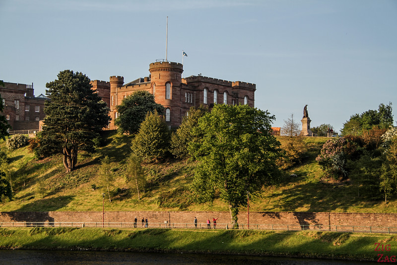 Chateau ecosse - Inverness castle