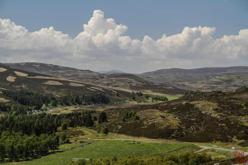 Upland Plateau Cairngorms National Park Scotland 7