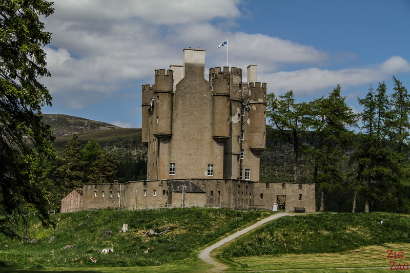 Braemar Castle National Park Scotland 1