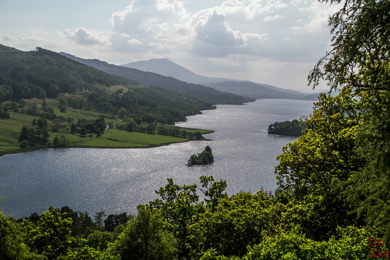 Top Scotland Attractions Viewpoint - Queen's View Scotland