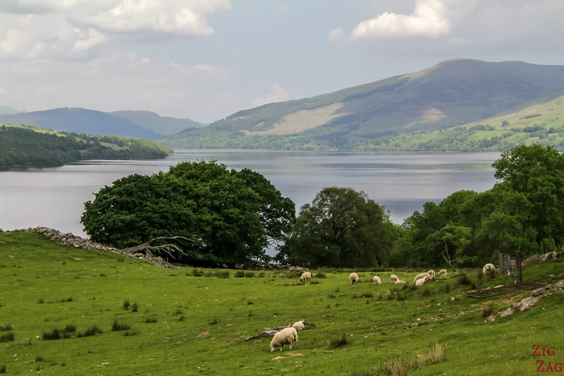 Loch Tay Scotland South Shore 7