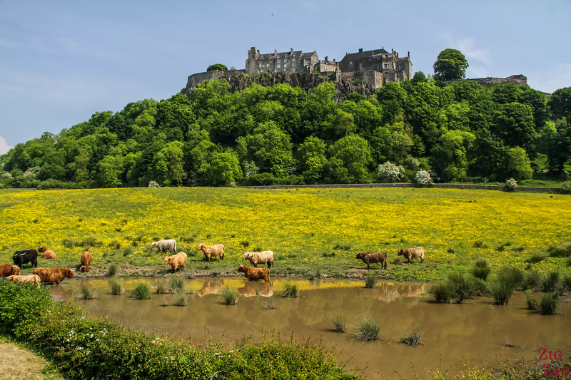 Places to visit near Edinburgh - Stirling castle