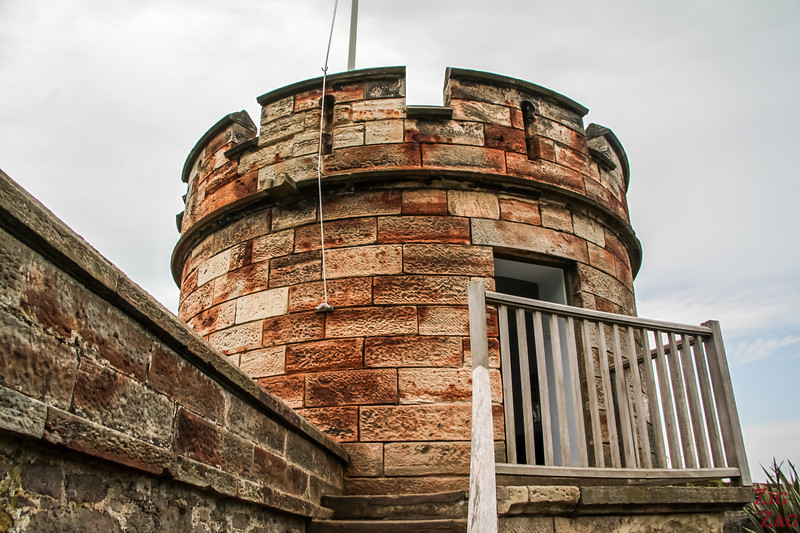Dirleton castle watch tower