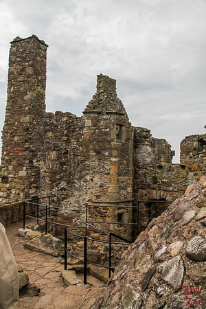 Dirleton Castle Scotland Upper levels 2