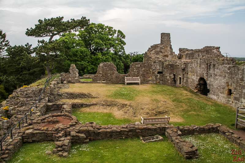 Dirleton Castle Scotland Upper levels 1