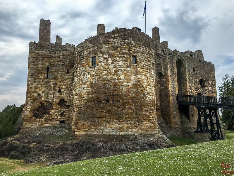 Dirleton Castle Scotland Facade 3