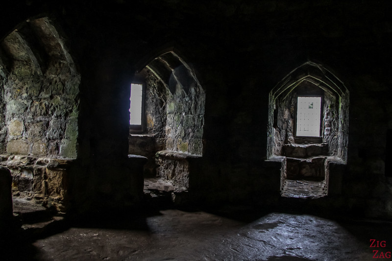 Dirleton Castle Scotland Upper levels 3