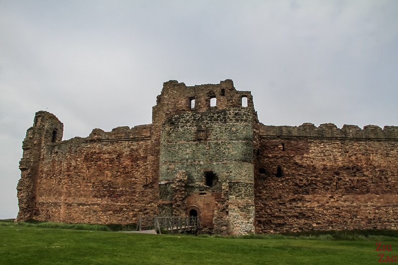 Tantallon Castle Scotland Wall 2