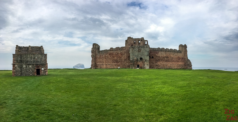 Tantallon Castle Scotland Wall 4
