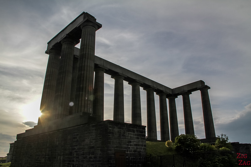 National Monument Calton Hill Edinburgh