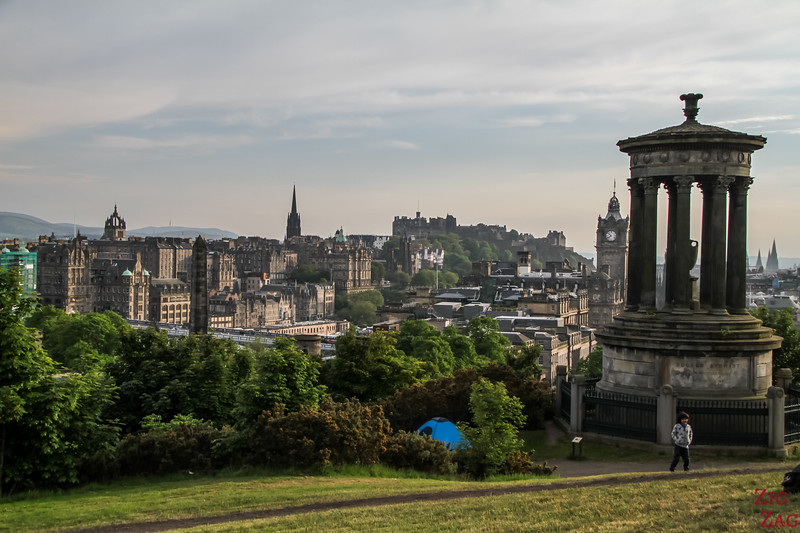 Top Scotland Attractions Viewpoint - Calton Hill
