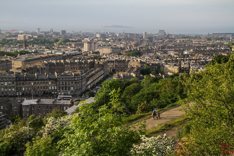 Views of Edinburgh town from Calton HIll 1