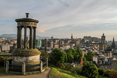Scotland Itinerary 7 days 1 - Calton Hill
