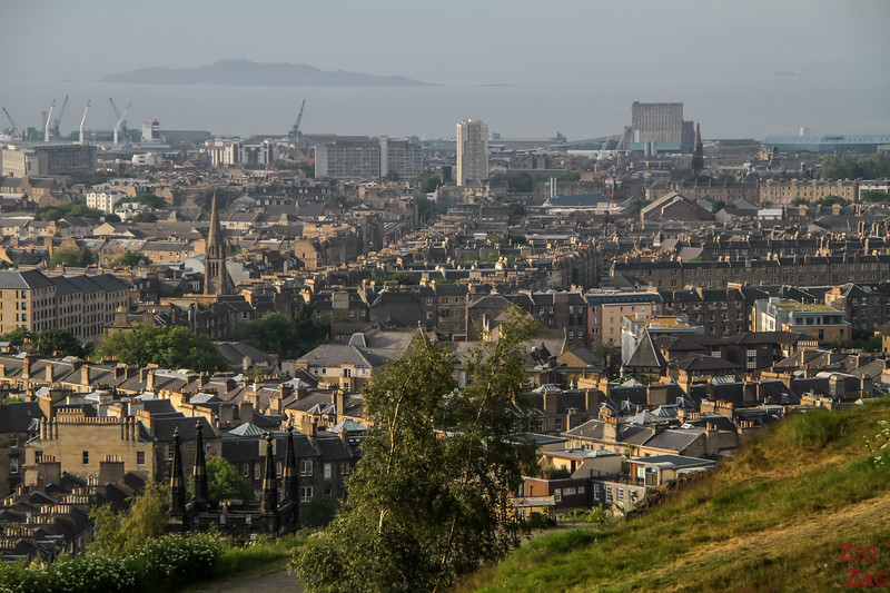 Views of Edinburgh town from Calton HIll 2