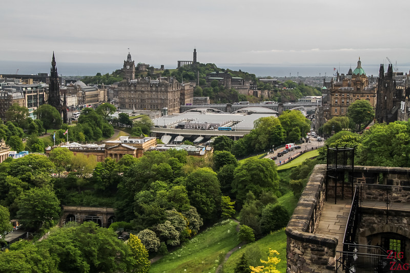 Best Edinburgh Views - Castle