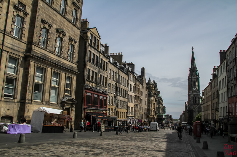 Que faire à Edimbourg - Royal mile