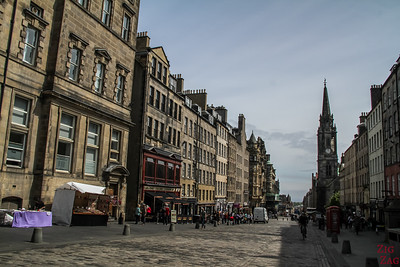 Scotland Itinerary 7 days 1 - Royal Mile