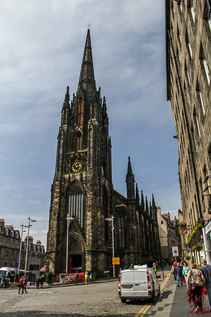 The Royal Mile Edinburgh Scotland - The Hub  2