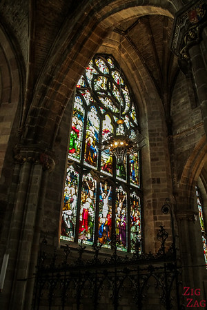 Stained Glass is St Giles Cathedral 5