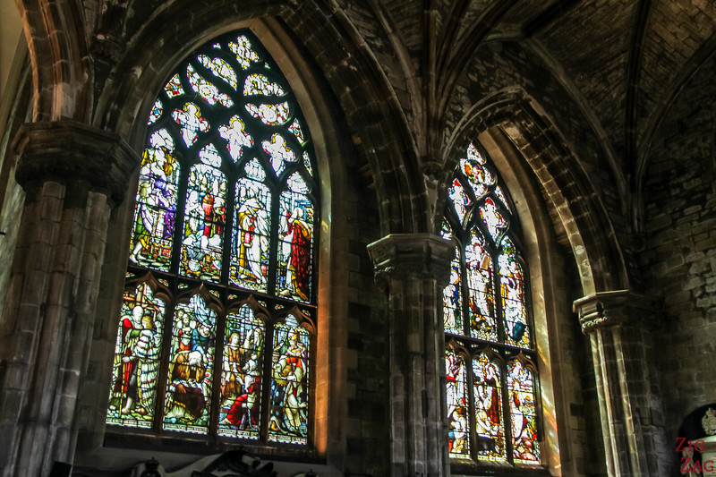 Stained Glass is St Giles Cathedral 1