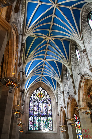 Visiting St Giles Edinburgh Cathedral 4