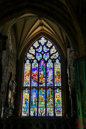 Stained Glass is St Giles Cathedral 2
