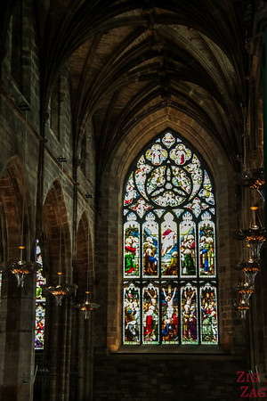 Stained Glass is St Giles Cathedral 3