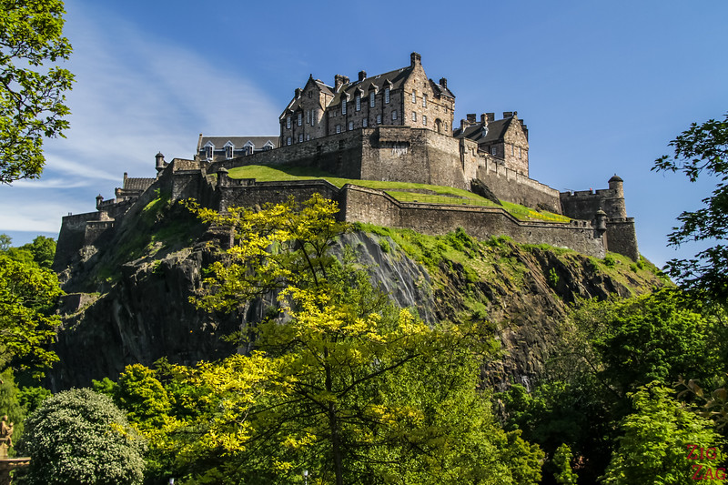 Top Scotland Attractions Historical sites - Edinburgh Castle