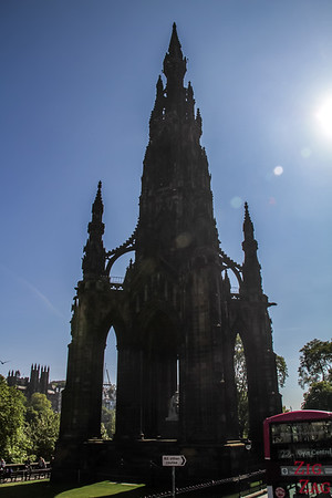Top Edinburgh Views - Scott monument