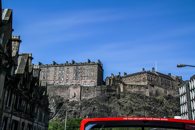 Edimbourg hop on Hop off