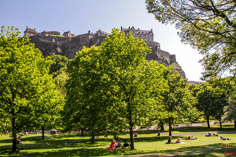 Edinburgh things to do - Princes st gardens