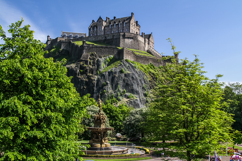 Photos of Scotland - Edinburgh Castle