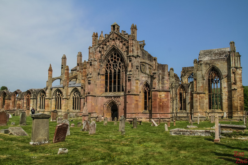 Melrose Abbey Picture 1