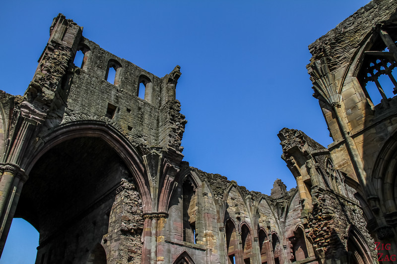 Melrose Abbey church 3