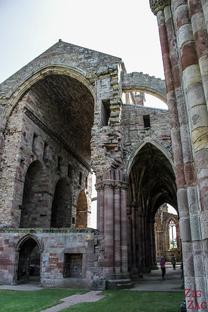 Melrose Abbey church 1