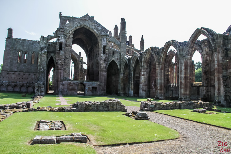 Melrose Abbey Scotland 1