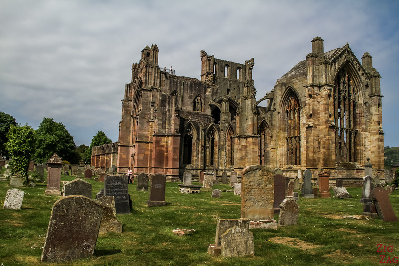 Melrose Abbey Picture 2