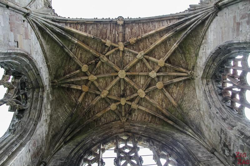 Melrose Abbey Presbytery Ceiling 3