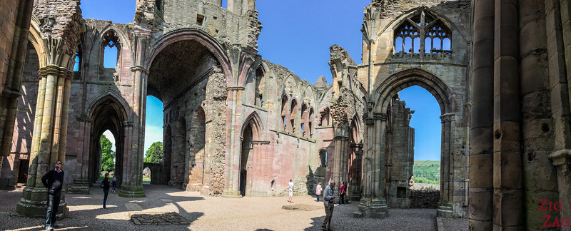 Melrose Abbey church 4
