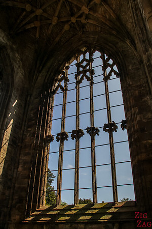 Melrose Abbey church 5