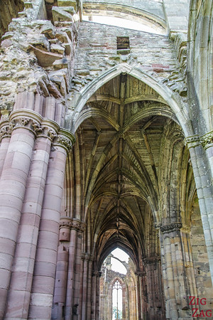 Melrose Abbey church 2
