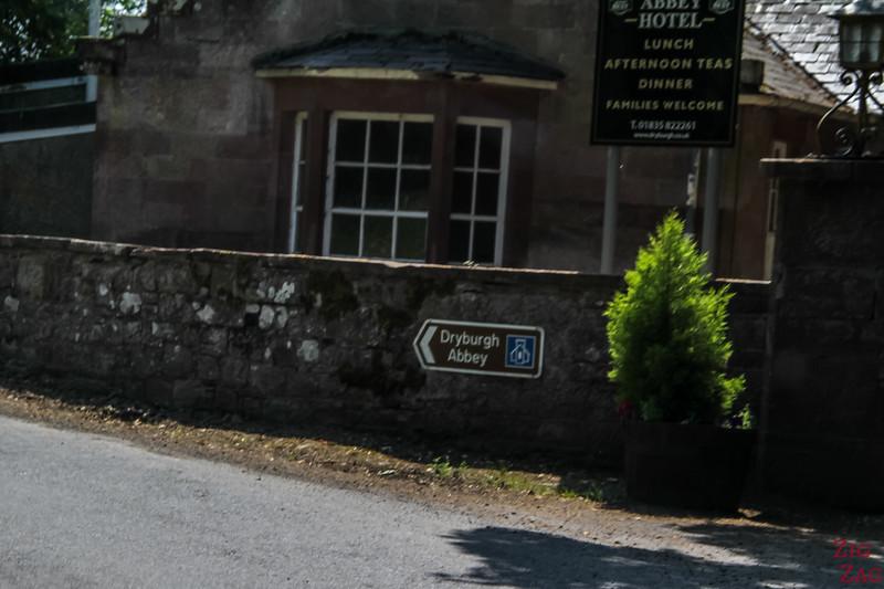 Dryburgh Abbey Scotland 1