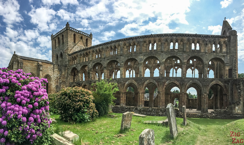 Jedburgh Abbey Scotland back 2