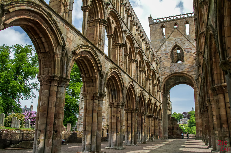 Jedburgh Abbey Scotland  inside 7