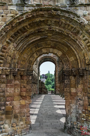Jedburgh Abbey Scotland  inside 8