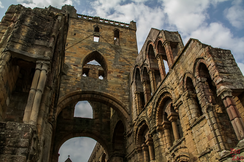 Jedburgh Abbey Scotland  inside 3